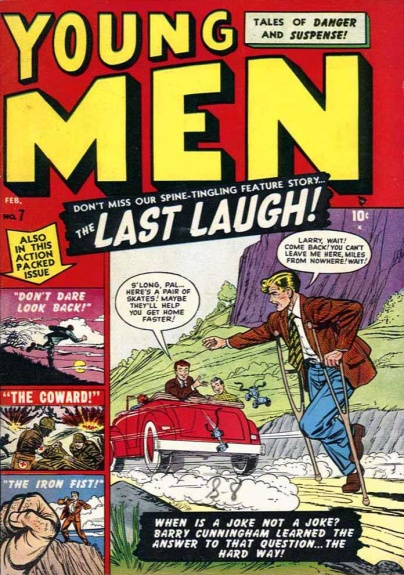 Young Men 7 Cover Image