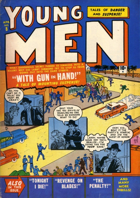 Young Men 8 Cover Image