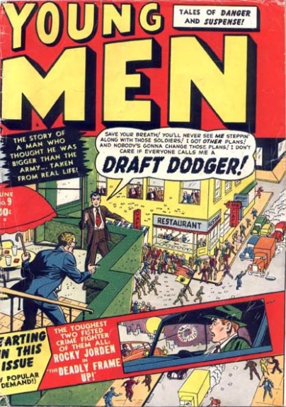 Young Men 9 Cover Image