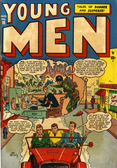 Young Men 10 Cover Image