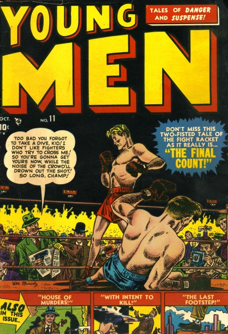 Young Men 11 Cover Image