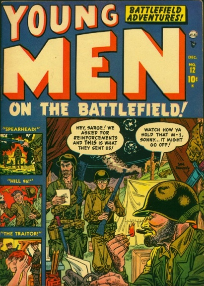 Young Men 12 Cover Image