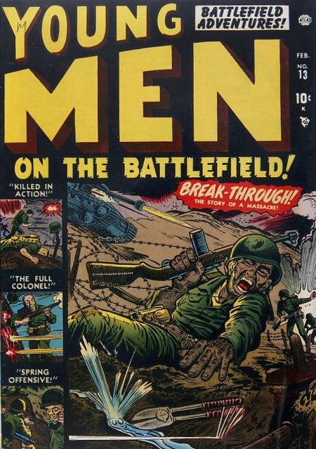 Young Men 13 Cover Image