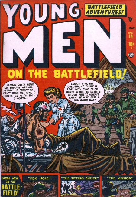 Young Men 14 Cover Image