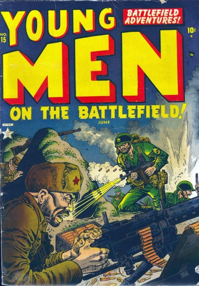 Young Men 15 Cover Image
