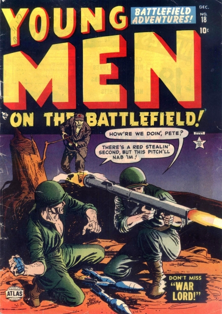 Young Men 18 Cover Image
