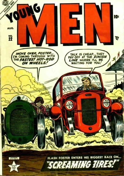 Young Men 22 Cover Image