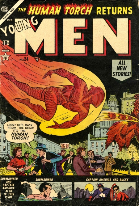 Young Men 24 Cover Image