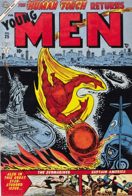 Young Men 25 Cover Image