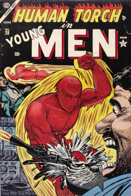 Young Men 28 Cover Image