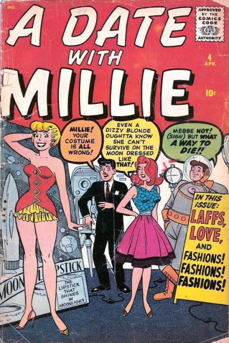 A Date with Millie  4 Cover Image