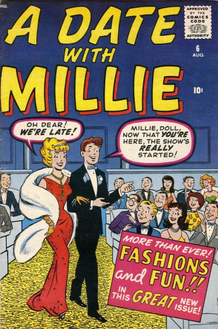 A Date with Millie  6 Cover Image
