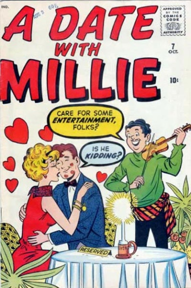 A Date with Millie  7 Cover Image