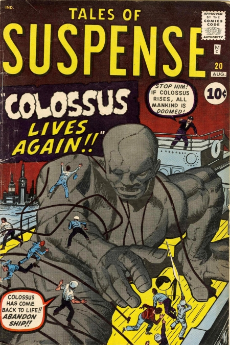 Tales of Suspense 20 Cover Image