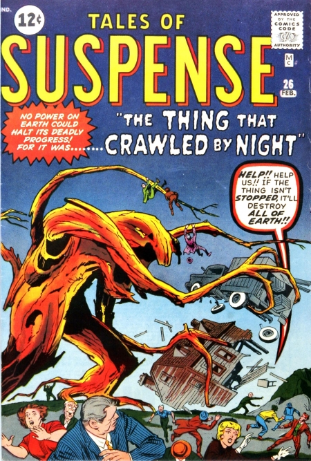 Tales of Suspense 26 Cover Image