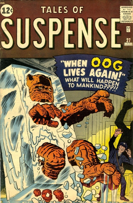 Tales of Suspense 27 Cover Image