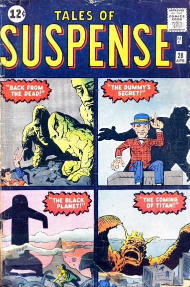 Tales of Suspense 28 Cover Image