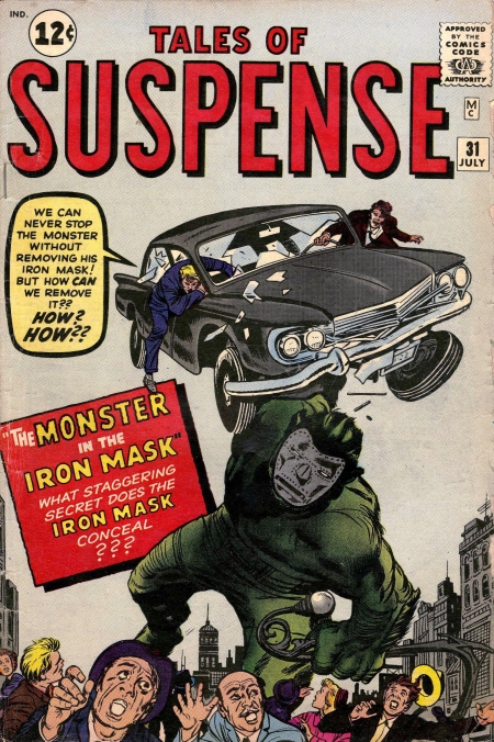 Tales of Suspense 31 Cover Image