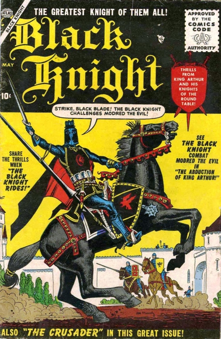The Black Knight 1 Cover Image