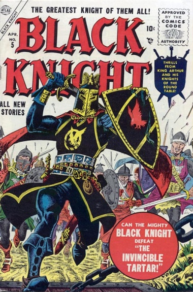 The Black Knight 5 Cover Image