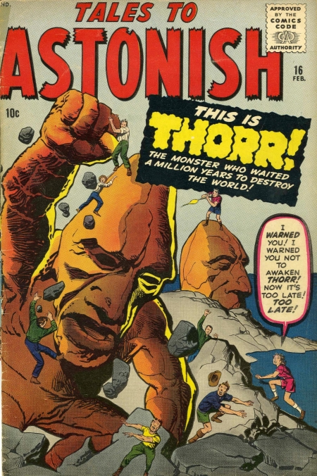 Tales to Astonish 16 Cover Image
