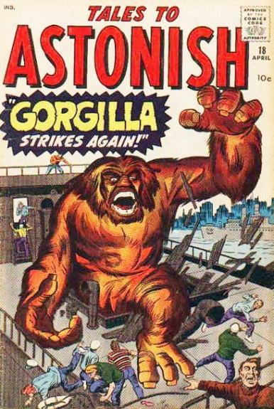 Tales to Astonish 18 Cover Image