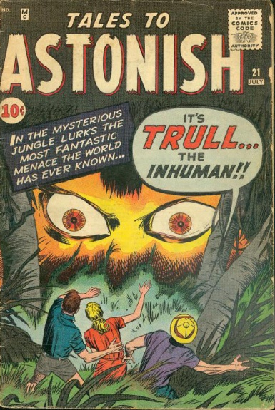 Tales to Astonish 21 Cover Image