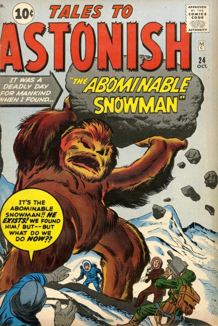 Tales to Astonish 24 Cover Image