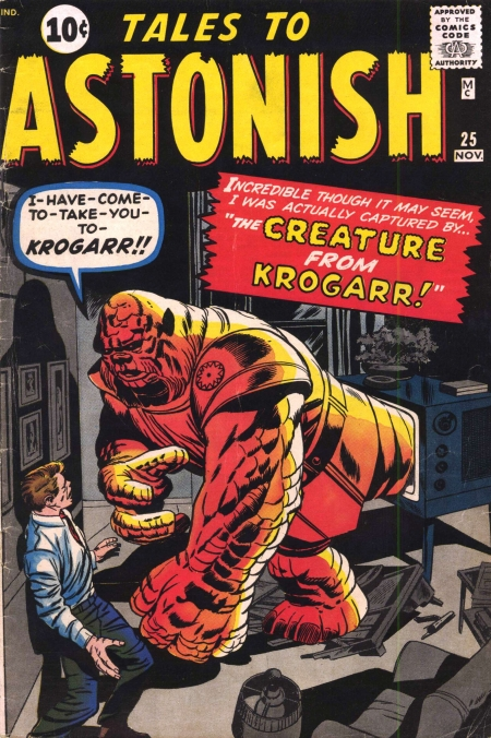 Tales to Astonish 25 Cover Image