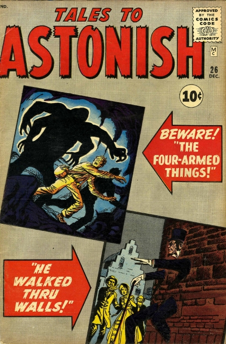 Tales to Astonish 26 Cover Image