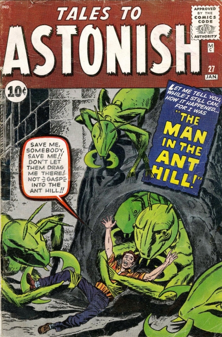 Tales to Astonish 27 Cover Image