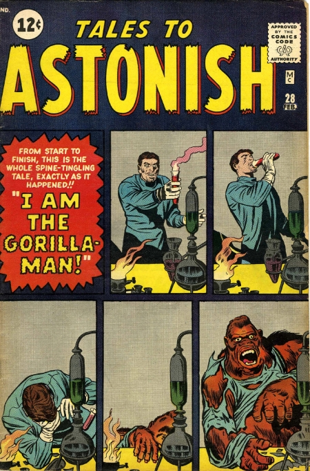 Tales to Astonish 28 Cover Image