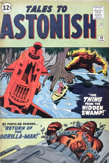 Tales to Astonish 30 Cover Image