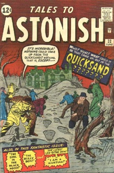 Tales to Astonish 32 Cover Image
