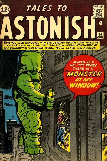 Tales to Astonish 34 Cover Image