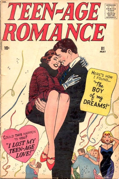 Teen-age Romance 81 Cover Image