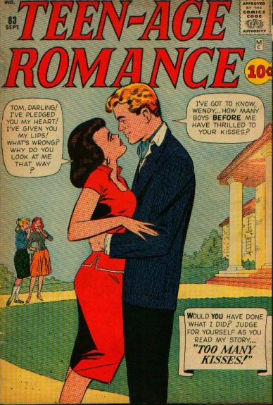 Teen-age Romance 83 Cover Image