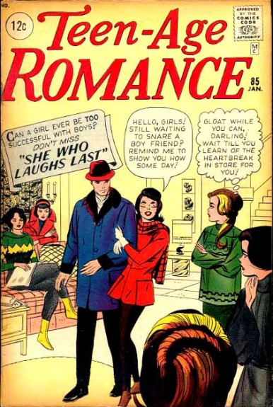 Teen-age Romance 85 Cover Image