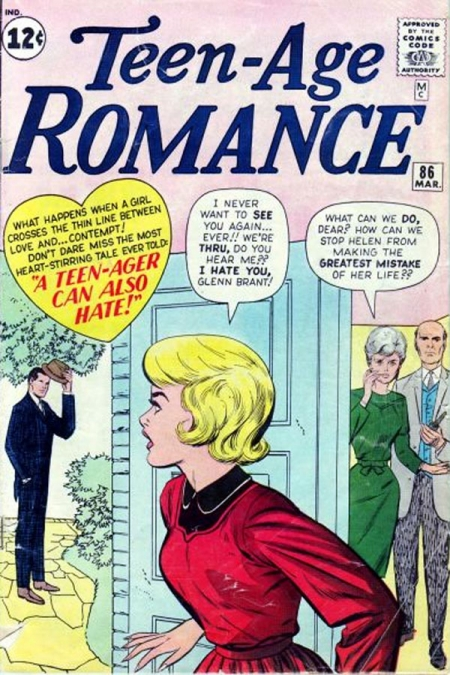 Teen-age Romance 86 Cover Image