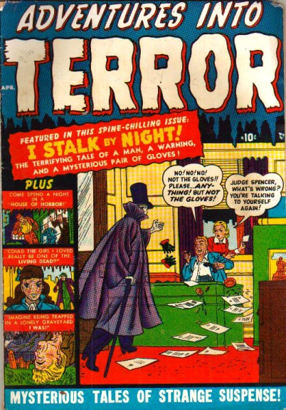 Adventures Into Terror 3 Cover Image