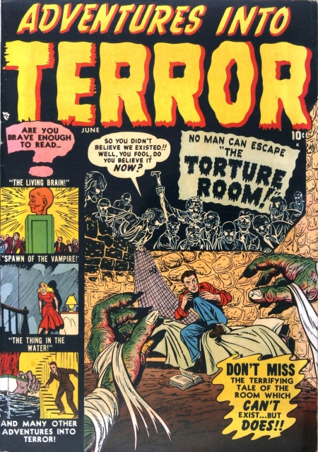 Adventures Into Terror 4 Cover Image