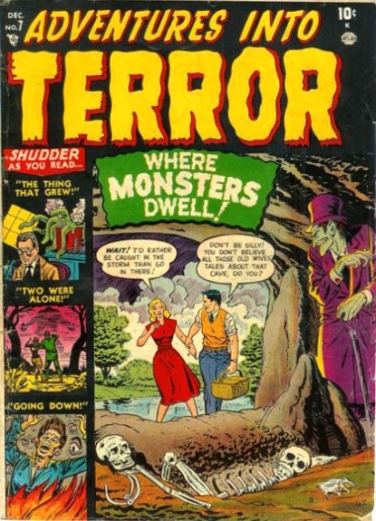 Adventures Into Terror 7 Cover Image