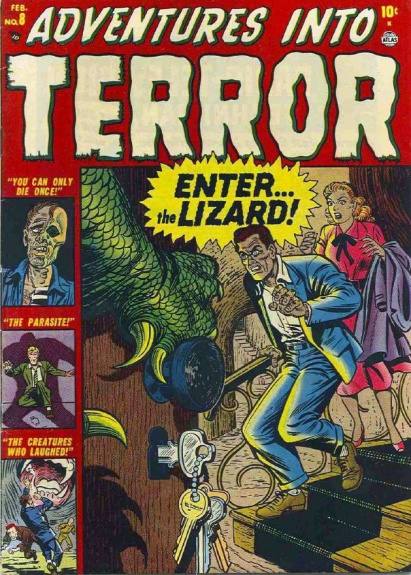 Adventures Into Terror 8 Cover Image