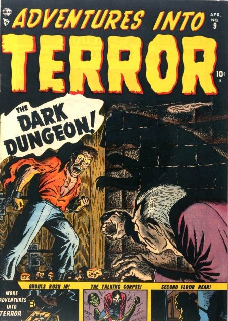 Adventures Into Terror 9 Cover Image