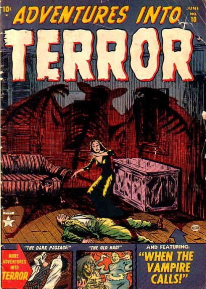 Adventures Into Terror 10 Cover Image