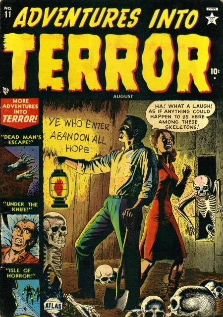 Adventures Into Terror 11 Cover Image