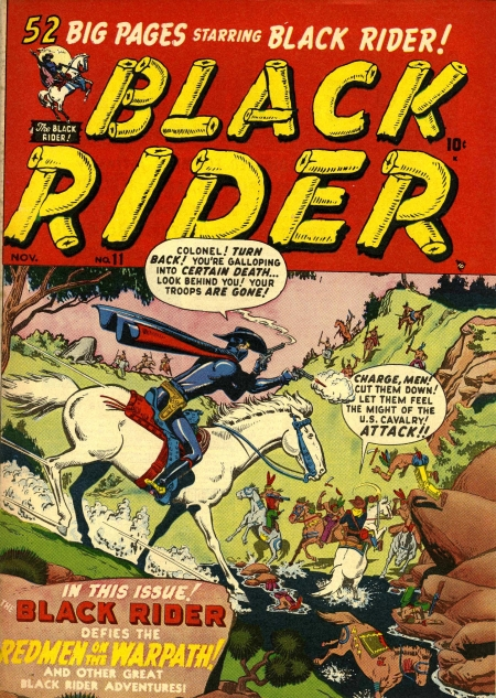 Black Rider 11 Cover Image