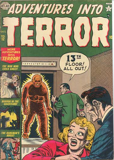 Adventures Into Terror 12 Cover Image