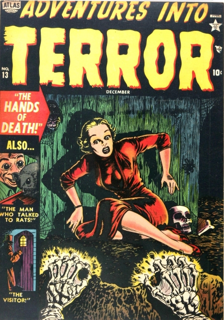 Adventures Into Terror 13 Cover Image
