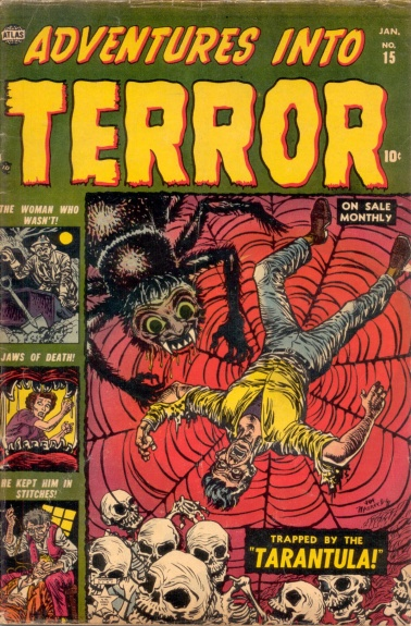 Adventures Into Terror 15 Cover Image